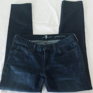 """7 for All Mankind Jeans - """"Gwenevere"""" - Size 26"""